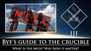 Destiny - Byf's guide to the crucible - Episode 3: Tasting the Meta
