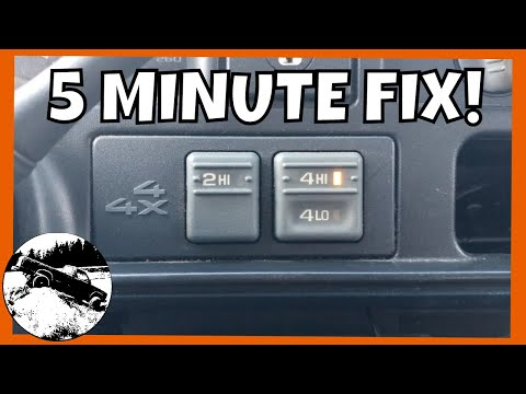 How To Replace Four Wheel Drive Actuator 1988-1999 Chevy GMC Silverado Sierra