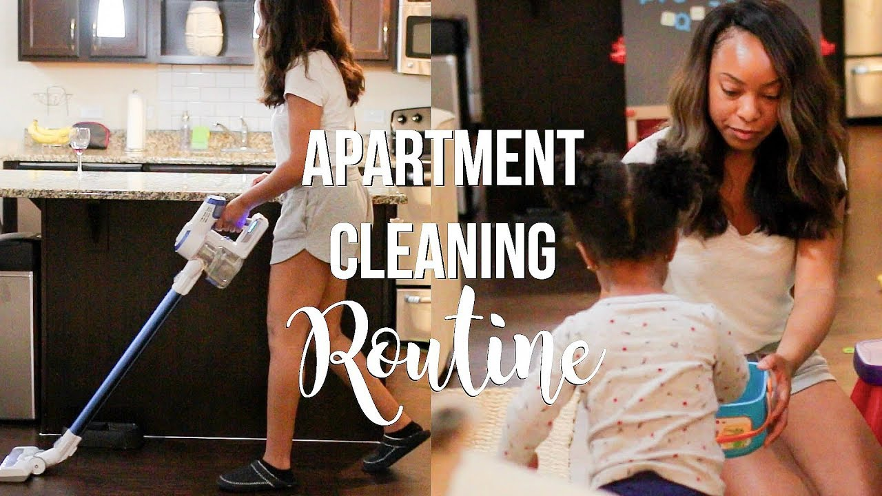 Apartment Cleaning Routine 2019 Relaxing Clean With Me Ultimate Cleaning Motivation