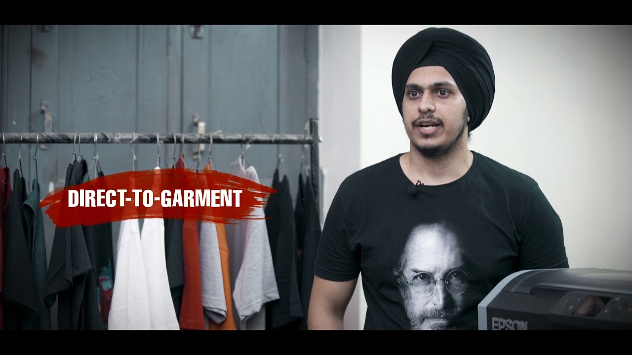 5d3c961a Epson's Direct-to-Garment Printing Means Business! - YouTube
