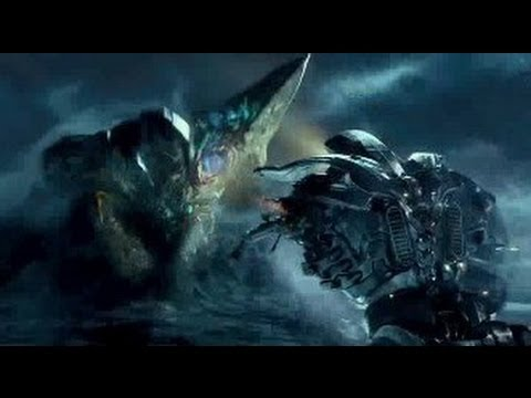 Gipsy Danger vs. Knifehead - PACIFIC RIM
