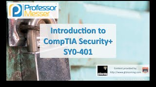 Introduction to CompTIA SY0-401 Security+ Certification