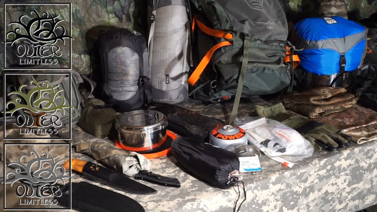 My Backpacking Gear Loadout