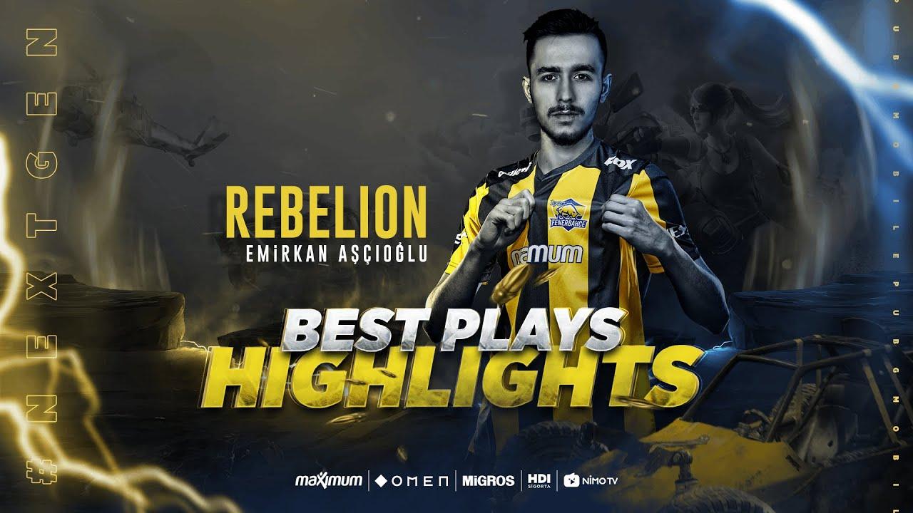 PUBGM | FB REBELION | Best Plays & Highlights