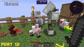 Let's Play Minecraft Sky Factory Compilation Ep. 10.5-20