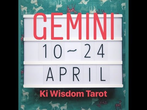 Gemini| NEW LOVE, NEW ENERGY- YOU'RE READY!! 11th to 24th April  2019