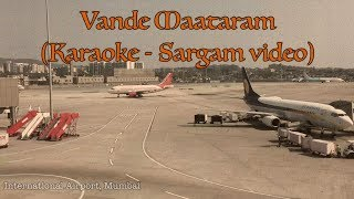 Vande maataram - Karaoke (sargam) Video