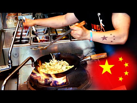 Cooking Asian Food in the Chinese Wok.