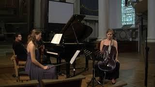 Alexander von Zemlinsky - Piano Trio op. 3 in d minor (violin/cello/piano) LIVE