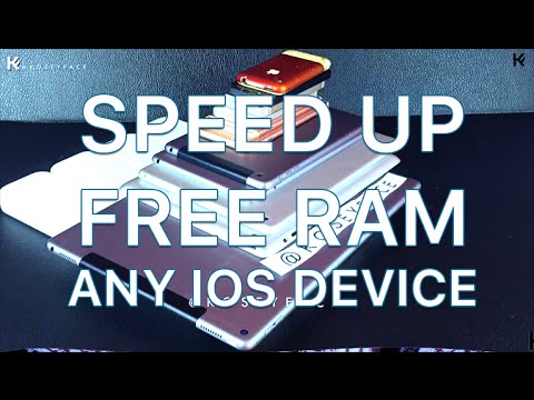 CLEAR RAM & Speed Up ANY IOS Device! Quick Trick Ipad Iphone iPad iPod