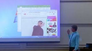 Professor plays prank on class; video goes viral