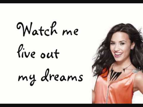 Demi Lovato- Brand New Day (HQ With Lyrics)