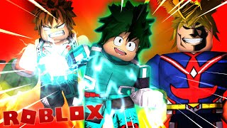 The best game BOKU NO HERO in ROBLOX! ‹ Nsis ›
