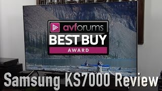 samsung UE55KS7000 4K UHD HDR TV Review