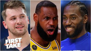Mavericks or Clippers: Which team is the biggest threat to the Lakers in the West? | First Take