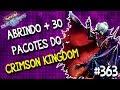 Abrindo + 30 pacotes do Crimson Kingdom em busca das cartas UR! Será que deu bom??