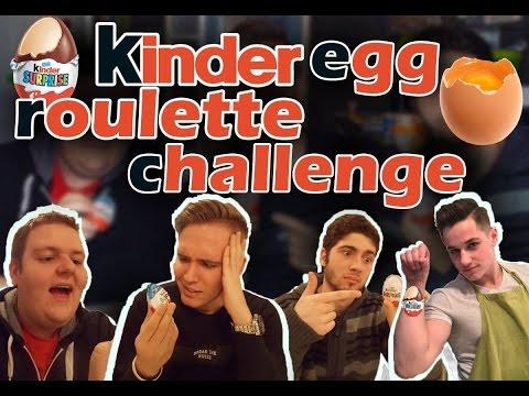 Kinder Egg Roulette Challenge