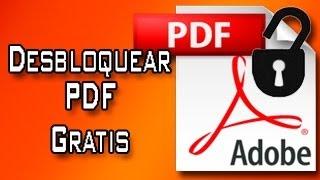 Desbloquear un pdf al 100%