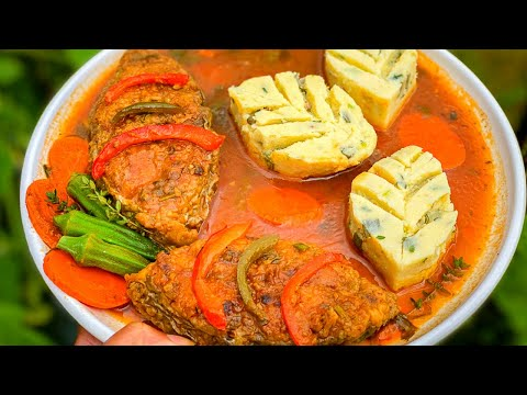 Stew Fish Recipe | BROWN STEW FISH