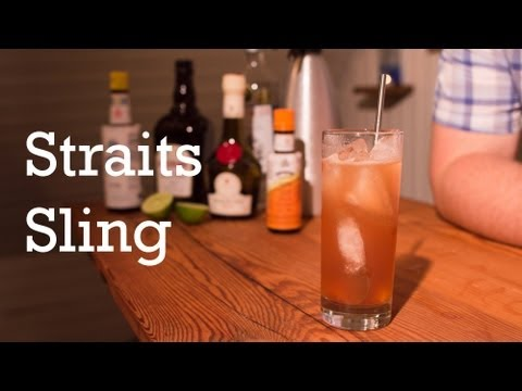 Straits Sling cocktail from Better Cocktails at Home