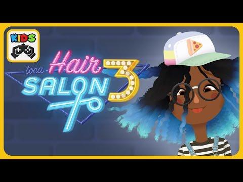 Toca Hair Salon 3 от Toca Boca - iOS / Android - HD геймплей трейлер