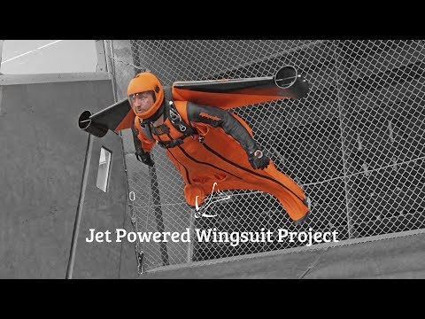 Jet Powered Wingsuit Project - Construction & Testing