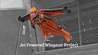 Jet Powered Wingsuit Project – Construction & Testing
