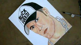 John Cena Speed Drawing (Professional Wrestler)