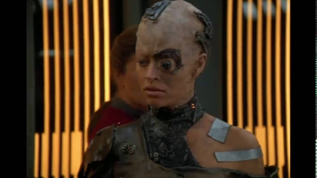 Seven of Nine does not like be...