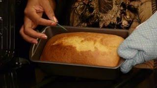 Poppy Seed Pound Cake Recipe : Pound Cakes