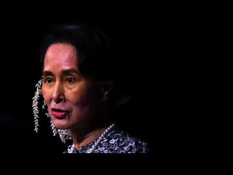 'No longer a symbol of hope': Aung San Suu Kyi stripped of Amnesty award