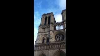 Cathédrale Notre-Dame de Paris - Sonnerie de l'heure.