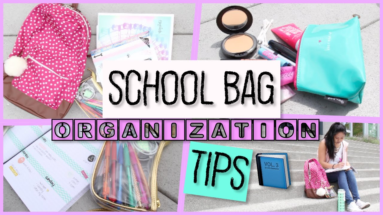 How to Organize Properly for School