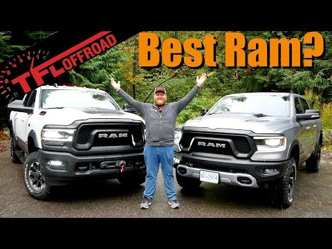 Power Wagon or Rebel - We Compare Ram's Ultimate Off-Roaders To See Which One Is Best For You!