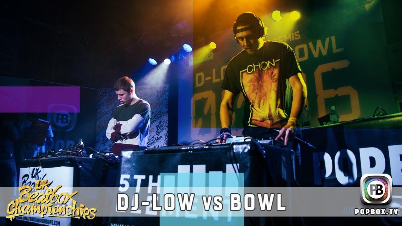 DJ-Low vs Bowl   Loopstation Semi Final   2017 UK Beatbox Championships