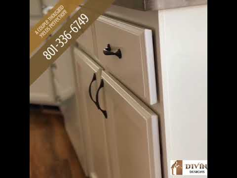 Divine Designs- For Refinishing your kitchen cabinets