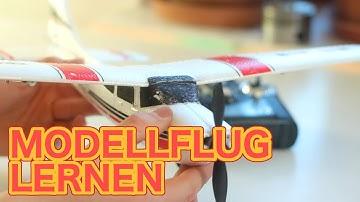 RC FLUGZEUG FLIEGEN LERNEN - Tutorial und Tipps für Anfänger (Modellflug Anleitung)