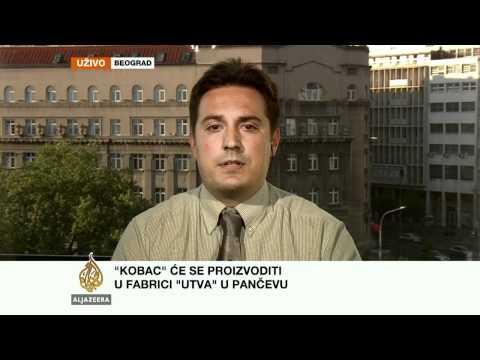 Savković o razvoju vojne industrije u Srbiji - Al Jazeera Balkans