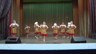 народный коллектив эстрадного танца Планета танец Подружки