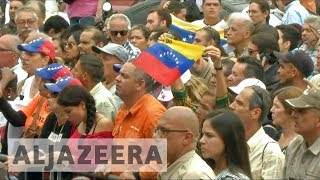 Venezuelans protest Maduro's bid to amend constitution
