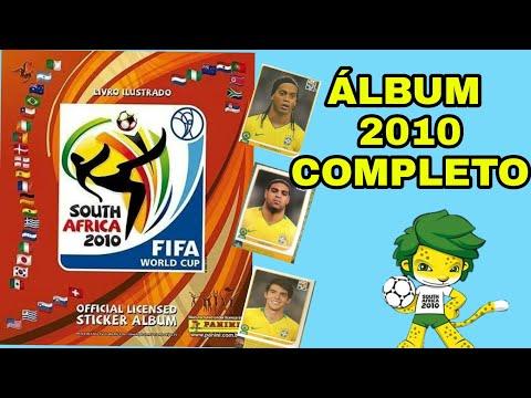 MOSTRANDO ÁLBUM DA COPA DE  2010 COMPLETO - ÁFRICA DO SUL 2010