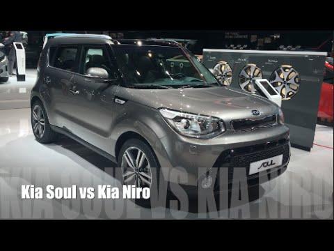 Kia Soul 2016 Vs Niro