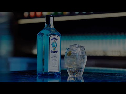 Martini Rocks - Bombay Sapphire Cocktail
