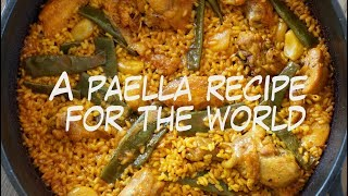 A Paella Recipe For The World And Reddit