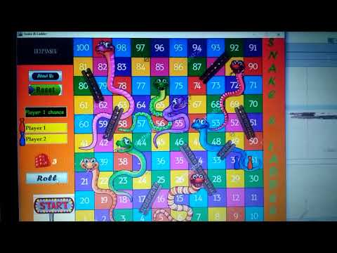 Download Java Source Code - Snake And Ladders