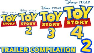 Toy Story 1-4 | Trailer Compilation 2