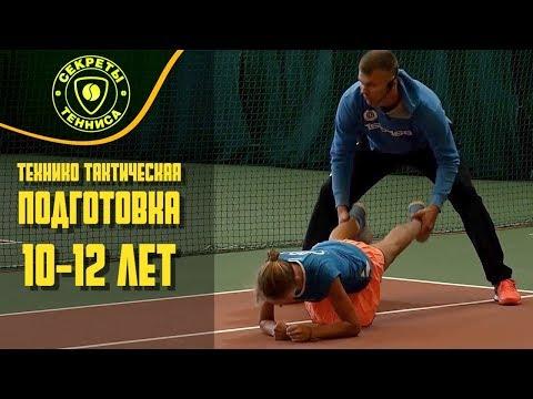 Теннис. Дети 10-12 лет. Как тренировать.