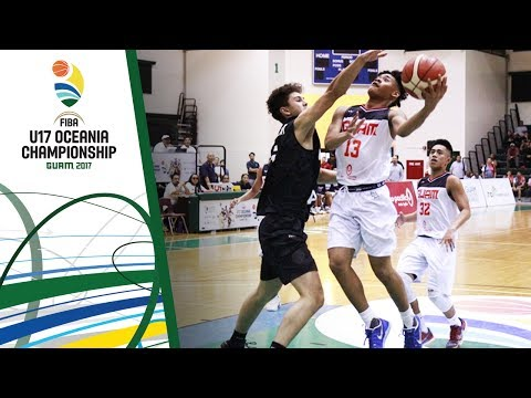 Guam v New Zealand - Full Game - FIBA U17 Oceania Championship 2017