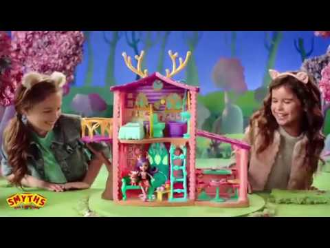 Enchantimals Cozy Deer House Playset - Smyths Toys