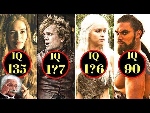 Trono di Spade: Qual è il QI di tutti i personaggi di Games of Thrones?